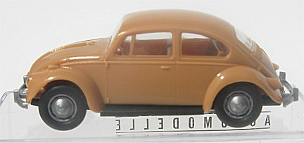 Brekina VW Bug  Light Brown