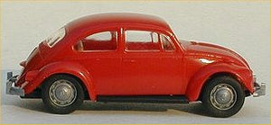 Brekina VW Bug Red