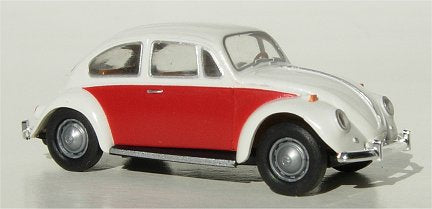 Brekina VW Bug  two tone White Red
