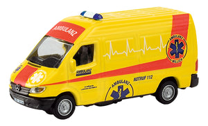 "Schuco Edition 1:87 Mercedes Benz Sprinter ""Ambulanz"""