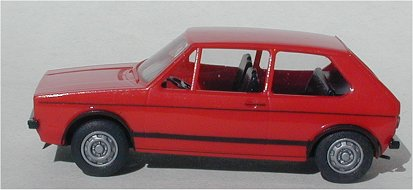 Brekina VW Golf GTI red