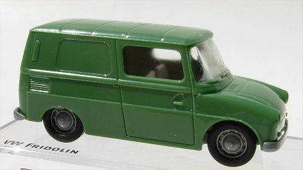 Brekina VW Typ 147 Fridolin Green