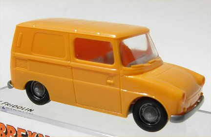 Brekina VW Typ 147 Fridolin Yellow