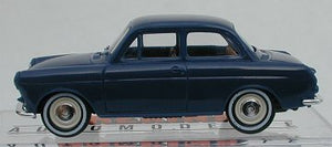 Brekina VW 1500 Notchback  blue