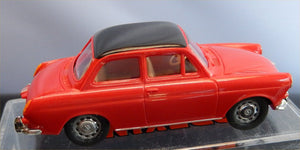 Brekina VW 1500 Notchback  red w black