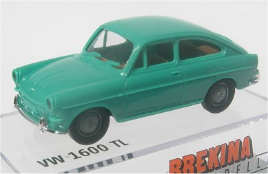 Brekina VW 1600 TL Fastback teal green