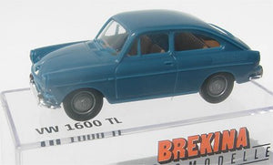 Brekina VW 1600 TL Fastback blue
