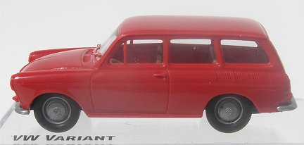Brekina VW Squareback Red