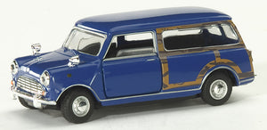 Schuco Junior Line 1:43 Austin Mini cooper Combi, blue