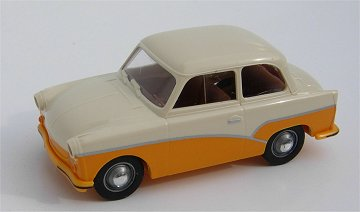 Brekina Trabant P50 Delux orange