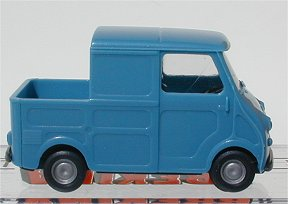 Brekina Goggo Transporter Pick up,blue