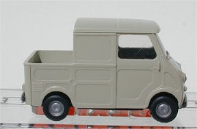 Brekina Goggo Transporter Pick up,grey