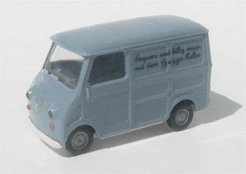 Brekina Goggomobil Transporter light blue