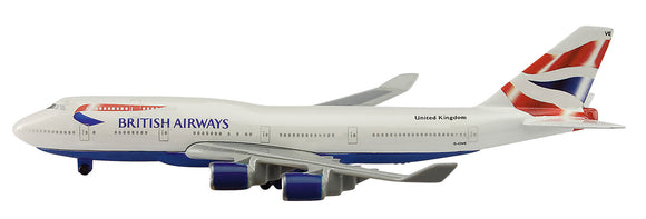Schuco Schabak 1:600 Boeing 747-400 British Airways