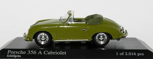 Minichamps Porsche 356 A Cabriolet 1956 light green 400-064230 [W1A]