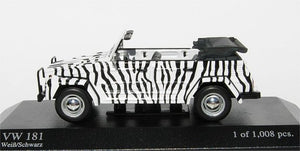 Minichamps VW Typ 181 1969 black/white 430-050034 [W1E]