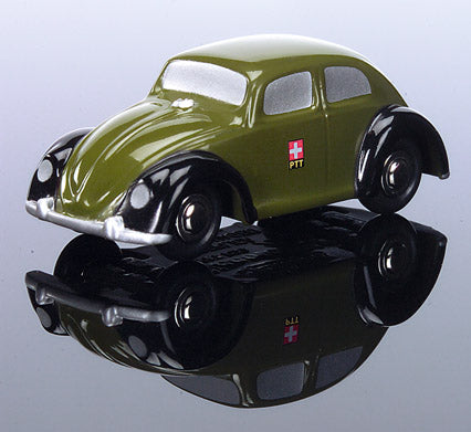 Schuco Piccolo Set PTT 1 VW Bug and VW Bus