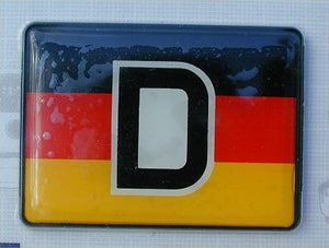"""D"" emblem Colors of Germany"