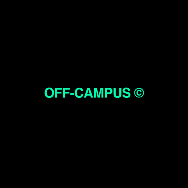 Off-Campus © Green Screen Hoodie