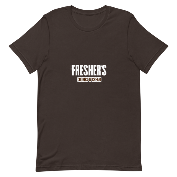 Fresher's Cookies & Creme Unisex T-shirt