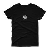 ANTI RACIST SOCIAL CLUB Women's T-shirt