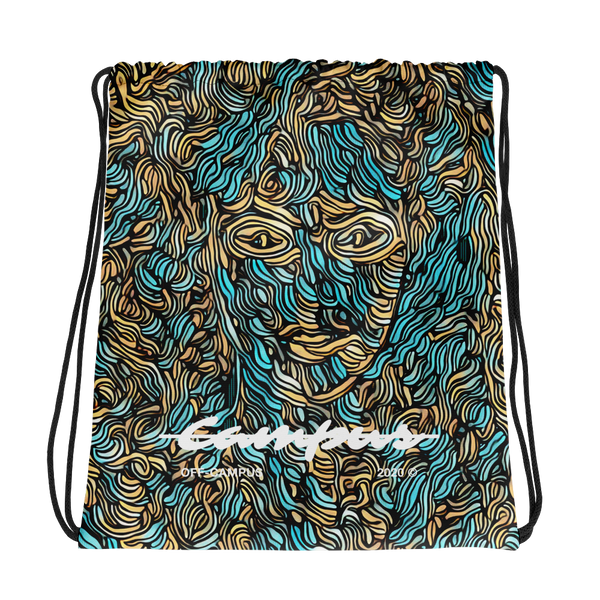 """Athena"" Unisex Drawstring Bag by Off Campus™"