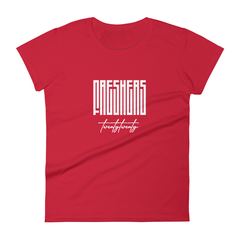 The Official Freshers' 2020 Women's T-shirt by Off Campus™ (Plain)