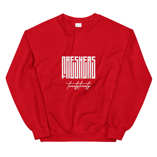 The Official Freshers' 2020 Unisex Sweatshirt by Off Campus™ (Plain)