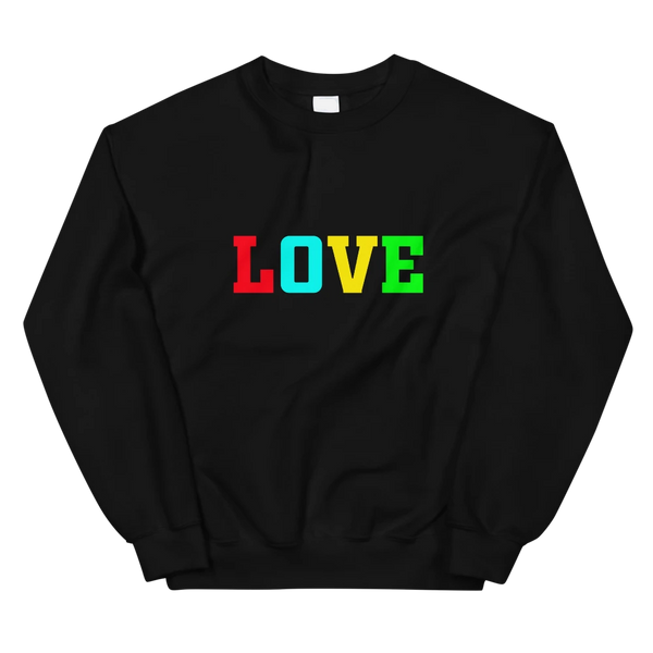 """LOVE"" Unisex Sweatshirt"