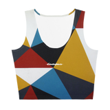 Off-Campus™ Women's Triangles Crop Vest