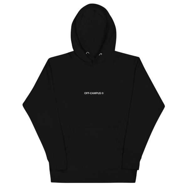 Off-Campus © Threaded Text Hoodie