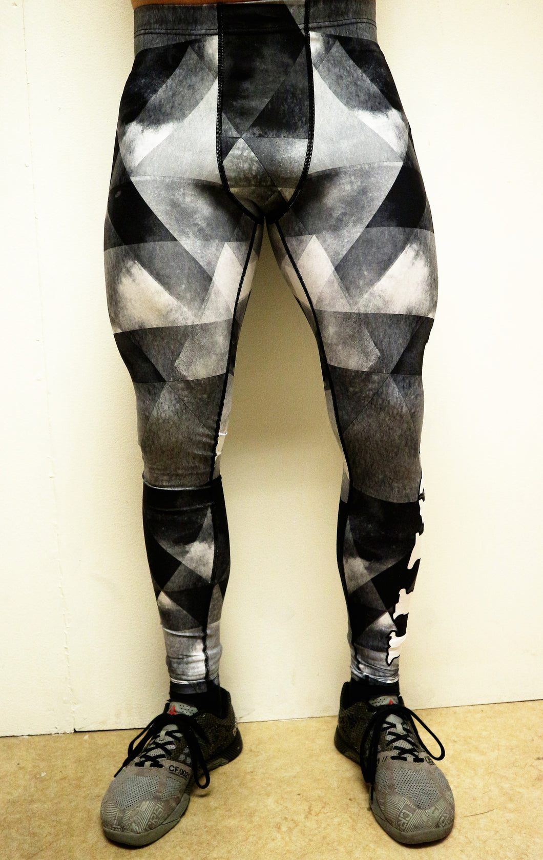 Strongfit tights Checkers Men