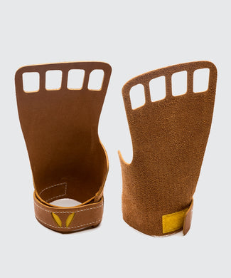 Victory grips leather - 4 fingers women's
