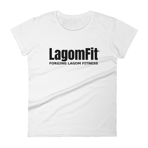 Forging Lagom Fitness Women's short sleeve t-shirt