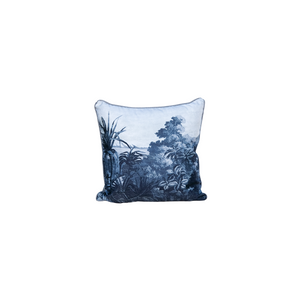 French Tropical Grisaille Pillow - Pillow - PICNIC
