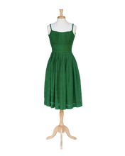 Load image into Gallery viewer, Palm Green Broderie Sundress - Dresses - PICNIC