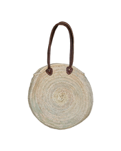 Load image into Gallery viewer, Round French Market Tote - Baskets - PICNIC