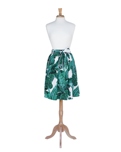 Green Leaf Tropical Skirt - Skirts - PICNIC
