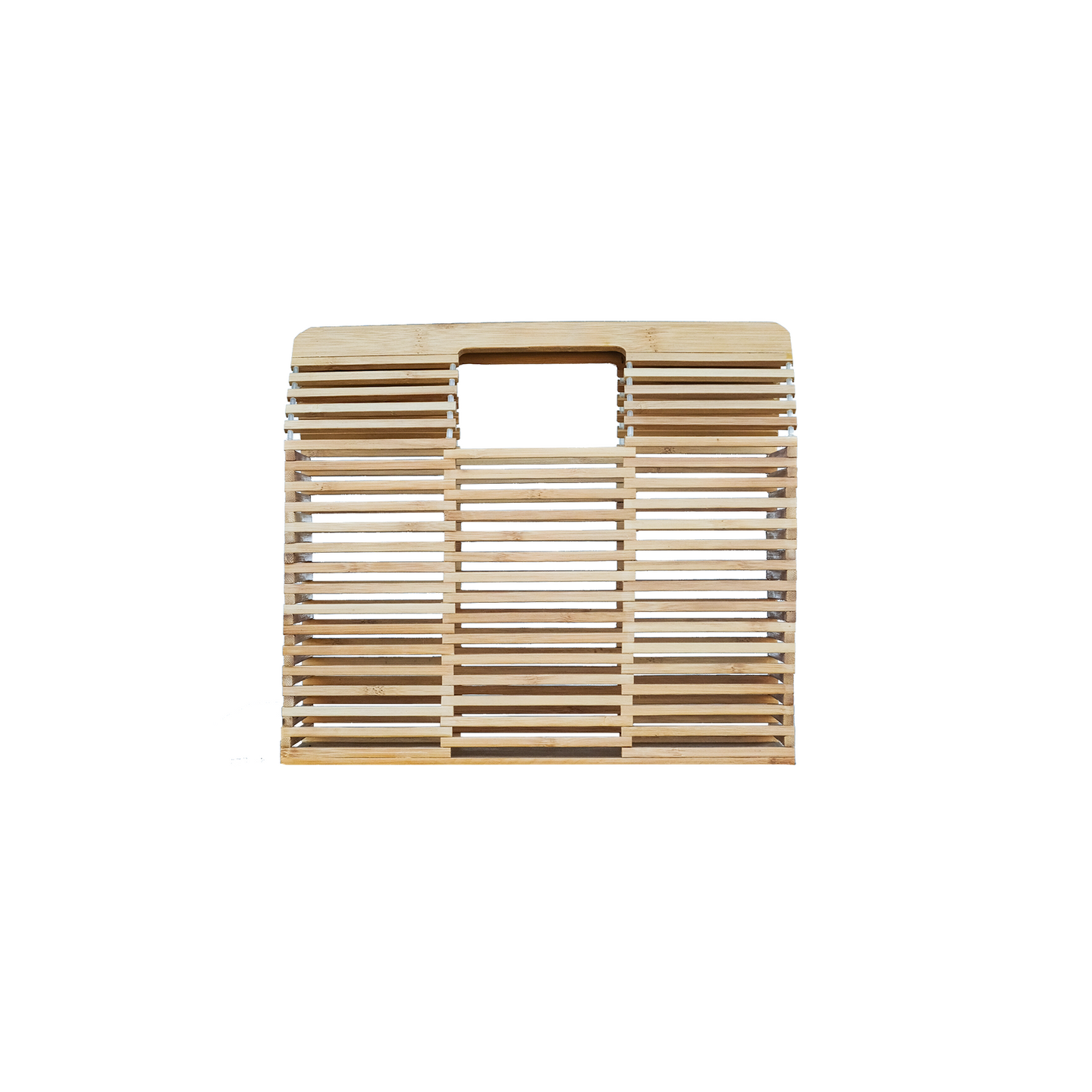 Bamboo Cage Clutch - Rectangle - Handbags - PICNIC