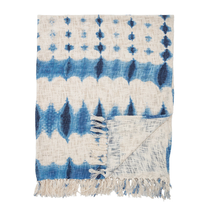 Tie Dyed Cotton Throw - throw - PICNIC