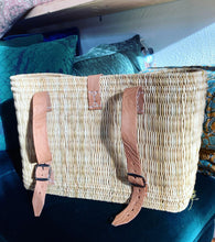 Load image into Gallery viewer, Woven Basket Backpack and Tote