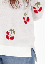 Load image into Gallery viewer, Lightweight Cherry Pullover Sweater