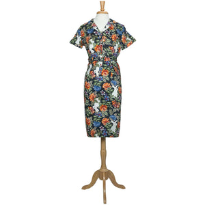 Caterina Forest Floral Pencil Dress - Dresses - PICNIC