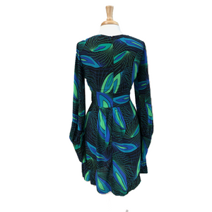 Deco Peacock Dress - Dresses - PICNIC
