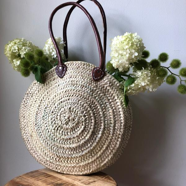 Round French Market Tote - Baskets - PICNIC