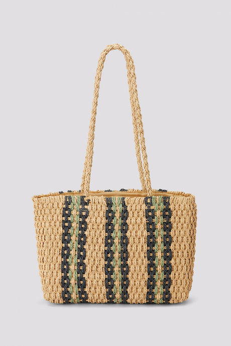 Striped Weave Bag -  - PICNIC