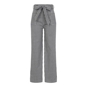 Bella Striped Trousers - Pants - PICNIC
