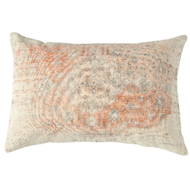 Distressed Cotton Lumbar Pillow - Pillow - DS - PICNIC