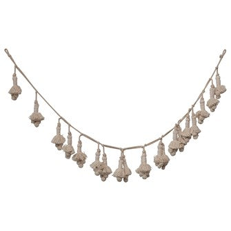 Cotton Tassel Garland - in store - Garland - PICNIC