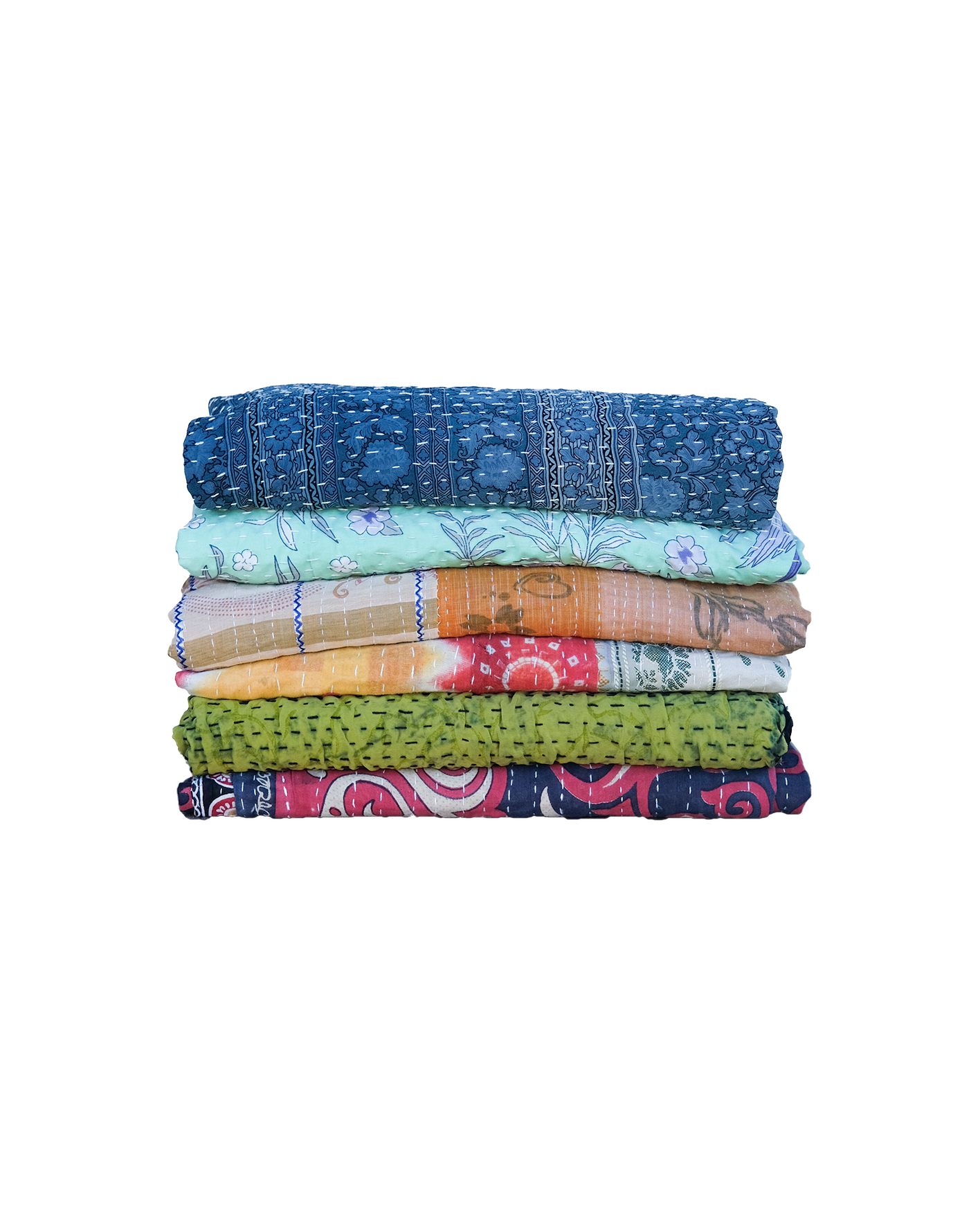 Kantha Quilts Assorted - Blankets - PICNIC